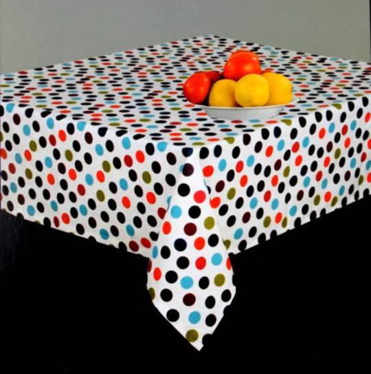 Tablecloth carnival spot 100x100cm Code: T/C-CAR/SP/100 CLEARANCE