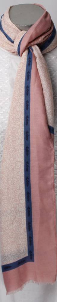 Soft winter printed scarf pink Style: SC/4264PNK