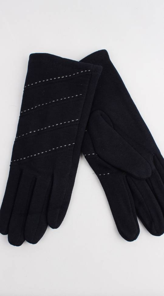 Thermal glove w contrast stitching navy Style; S/LK4389