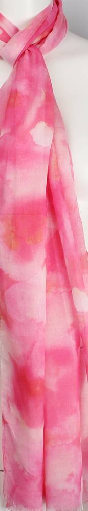 Alice & Lily printed  scarf pink Style:SC/4563/PINK