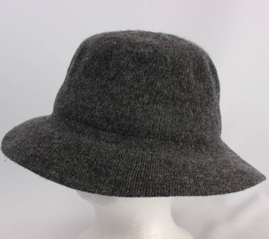 Wool dome hat grey Style: HS/9092GRY
