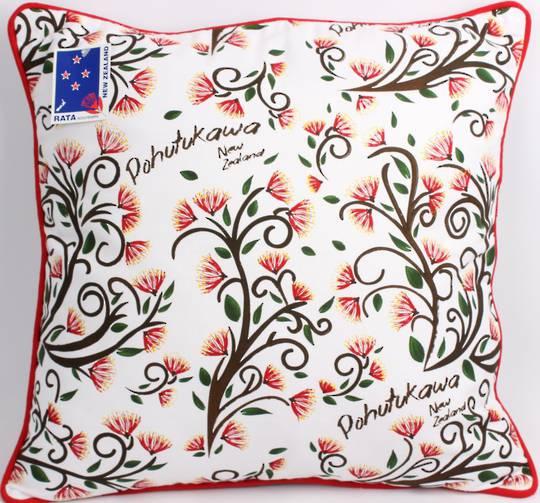 Cushion Cover Pohutukawa.  Code: CUS-CVR/POH