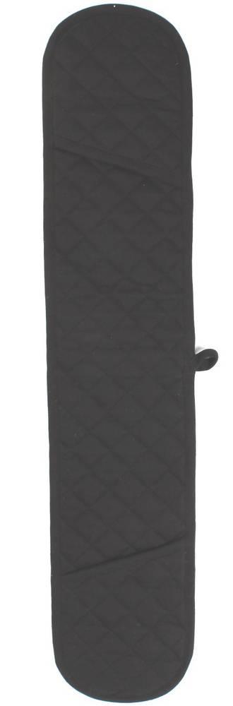 Double mit oven glove solid black Code: DM-HH/SBLK