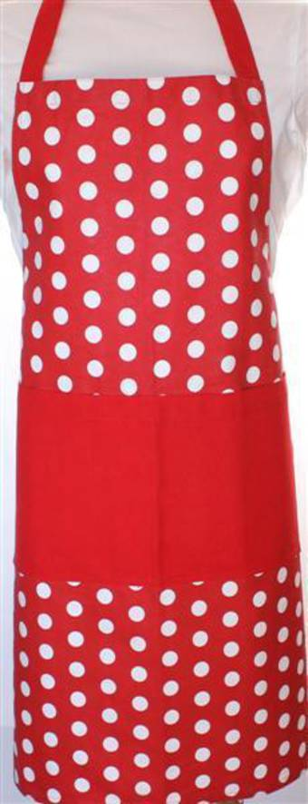 Apron spot red Code:APR-SPOT/RED