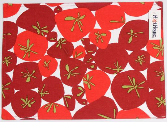 Placemat Tomato Code: PM-TOM CLEARANCE $1.00EA