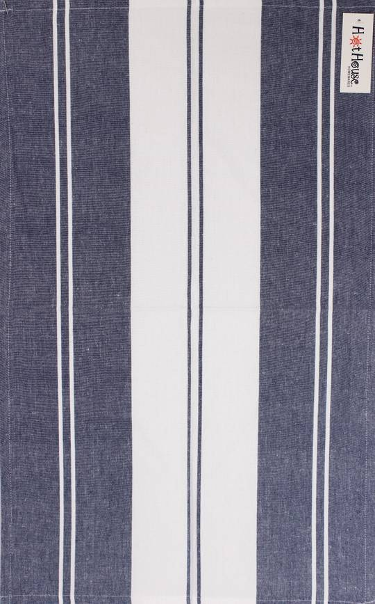 Tea towel 'Newport stripe' navy Code: T/T- NEW/STR/NAV