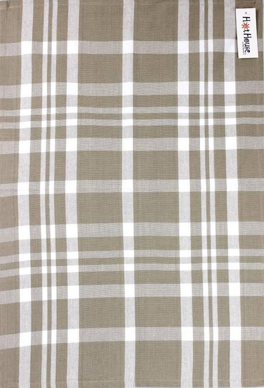 Tea towel 'Newport check' linen Code: T/T- NEW/CHK/LIN