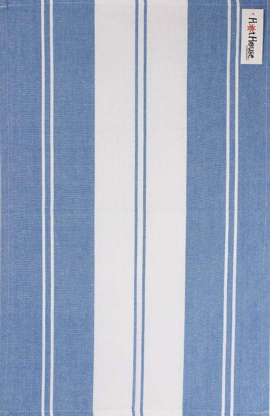 Tea towel 'Newport stripe' blue Code: T/T- NEW/STR/BLU