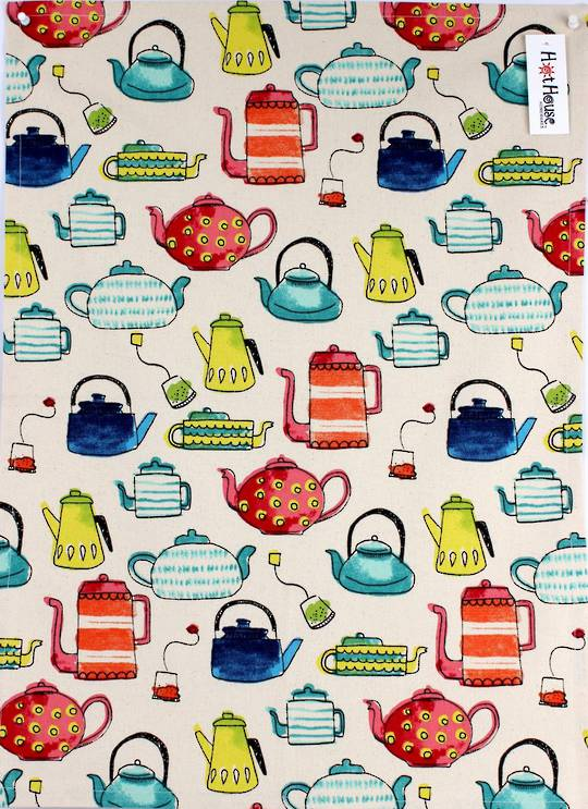 Tea Time tea towel CODE : TT-TEA