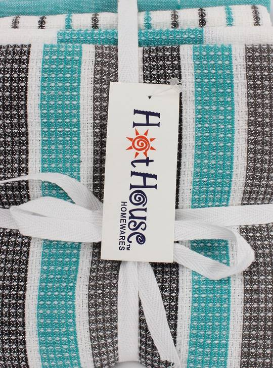 SPECIAL OFFER : 4pk tea towels 'Weston' teal CODE: T/T-WEST/4PK/TEA.(take $5.00 off per pack if you buy just 12 pks)