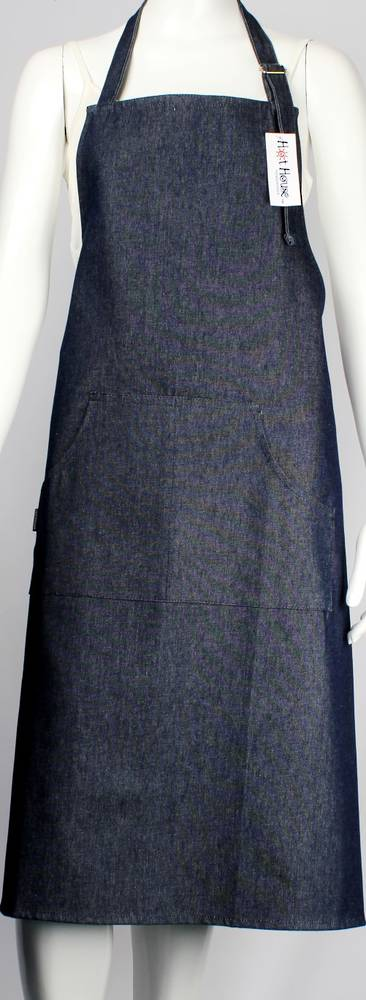 Solid denim navy apron Code: APR- DEN/NAV