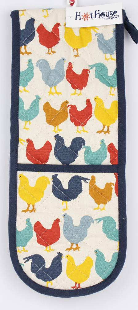 Chooks double oven glove Code: DM-CHO. DELIVERY JULY.