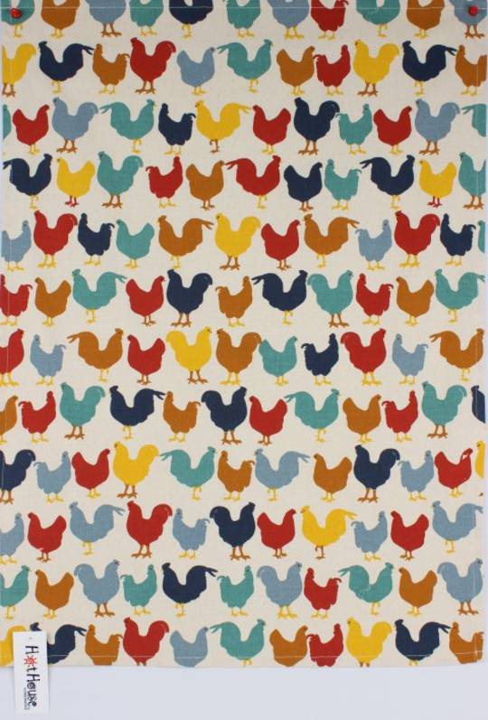Chooks tea towel Code: T/T-CHO.