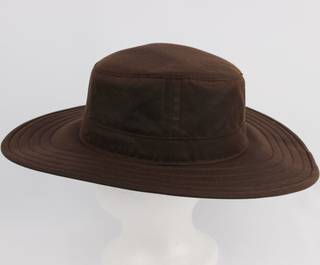 Cotton treated water resistant hat floating Style: HS/7010 DARK BEIGE