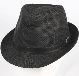 Trilby w black band and buckle  Style: HS/1393BLK