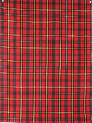Tea towel 'Christmas Tartan' red Code: T/T- TAR/RED