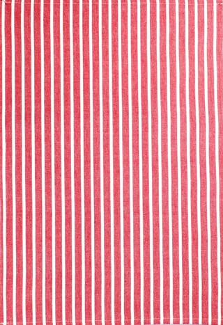 Tea Towel 'Nevada Stripe' red Code: T/T-NEV/STR/RED