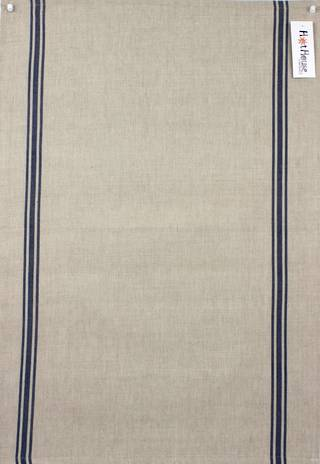 Marseille linen union t-towel blue Code: T/T-MAR/BLU