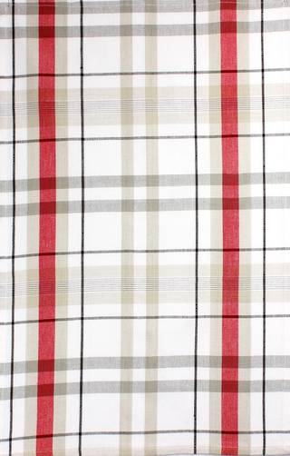 Tea Towel 'Reno Plaid' red Code: T/T-REN/PLD/RED