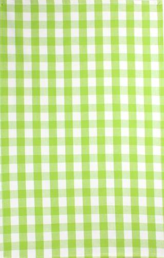 Tea Towel 'Nevada Check' lime Code: T/T- NEV/CHK/LIM