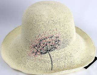 HEAD START Packable hat totally adjustable size,style shape or form ivory Style: HS/1415/IVORY