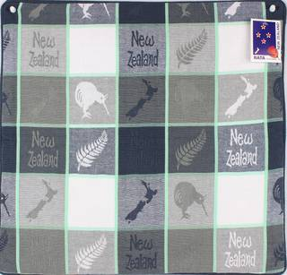 Cushion cover map/kiwi grey Code: S600/MK/G