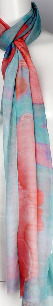 Alice & Lily printed  scarf pink Style:SC/4568/PNK