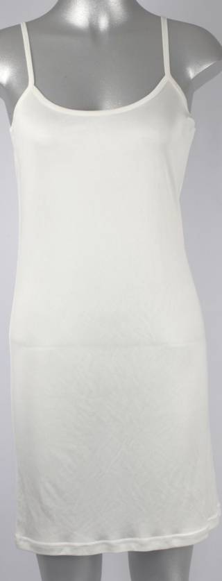 Pure silk chemise plain natural Code:AL/SILK/3PL
