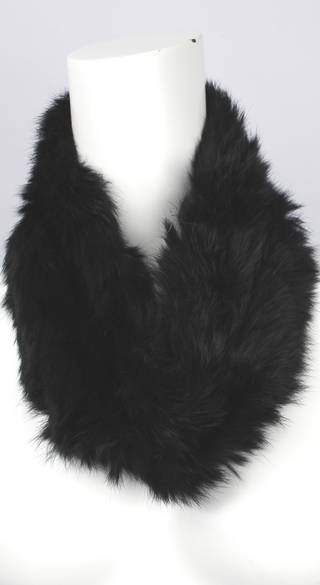 Alice & Lily fur snood black STYLE: SC/4375BLK- NEW SHIPMENT ARRIVING LATE MAY ORDER NOW