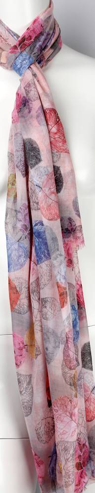 Printed  scarf pink Style:SC/4467/PNK