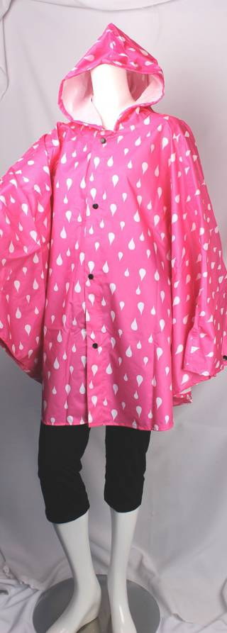 Alice & LIly poncho raincoats with hood pink Style SC/4258