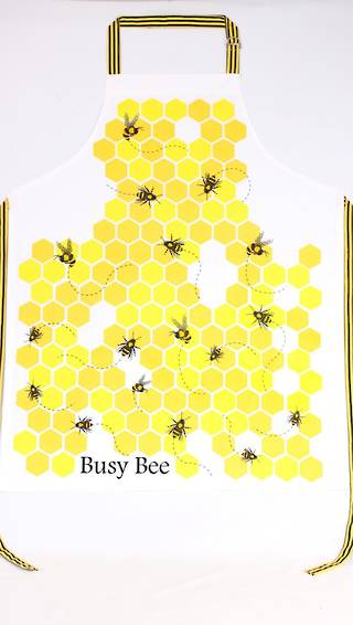 Busy bee apron CODE: APR-BUS/BEE