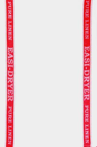 Samuel Lamont  easi-dryer pure linen  tea towel Code: TT-800L/RED