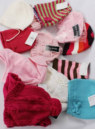 GIRLS 12 PACK WINTER HAT PACK DEAL  SIZES S M L  STYLES : ASSORTED