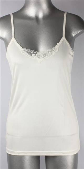 Pure silk lace camisole natural Code:AL/SILK/5