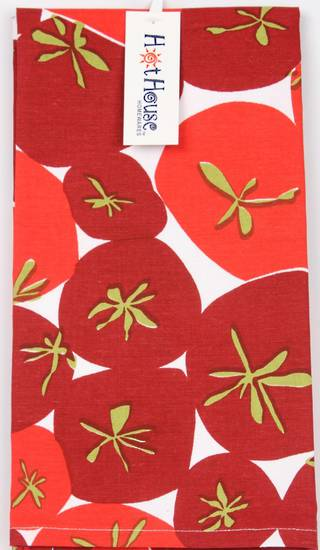 Tea Towel Tomato 2 pack Code :TT-TOM/2PK