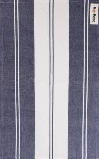 Tea towel 'Newport stripe' navy Code: T/T- NEW/STR/NAV