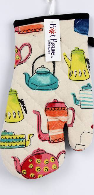 Tea Time oven glove CODE : OG-TEA