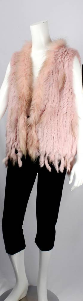 Alice & Lily fur vest blush STYLE: SC/4374BLUSH