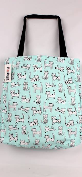 Kitty Cat tote bag  CODE :  TB-KIT