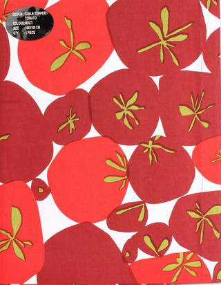 Table Topper Tomato 100x100cm code: TC-TOM/100 CLEARANCE