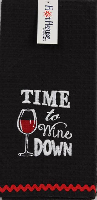 Novelty 'Time to wine down