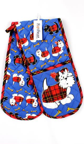 Double Mit Scottie Dog  Code:DM-SD CLEARANCE $4.50EA