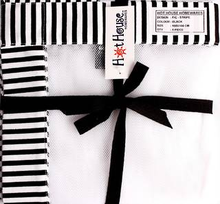 Food cover stripe black Code: F/C-STR/BLK