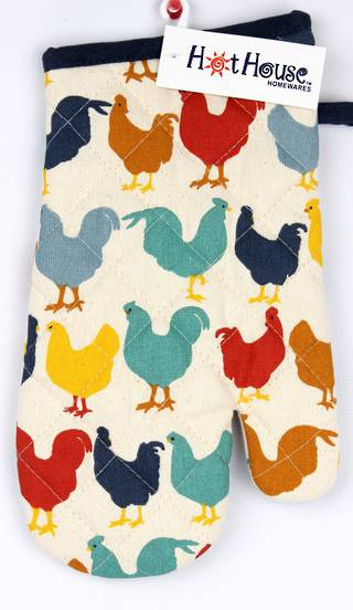 Chooks oven glove Code: OG-CHO.