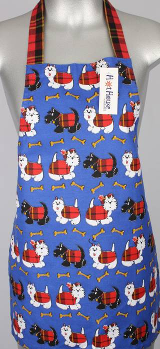 Apron Childs scottie dog Code: APR-SD/CHI